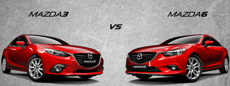 What S The Difference Between The Mazda3 And Mazda6